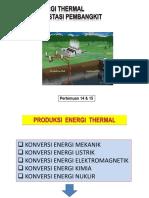 13 & 14 Produksi Energi Termal