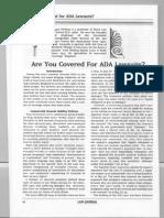ADA Lawsuits