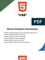 Belajar CSS2