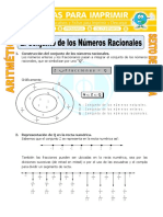 Conjunto de Los Números Racionales Para Sexto de Primaria