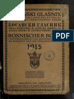 Bosanski glasnik 1915.  godine -Bosnischer Bote 1915