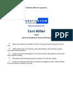 Gratisexam.com AACD.certkiller.aacd.v2015!03!20.by.mary.131q