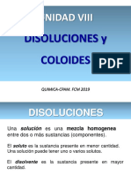 8- UNIDAD VIII. Disoluciones