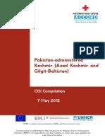 Azad Kashmir and Gilgit-Baltistan