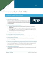 Arcserve UDP Cloud Direct FAQ