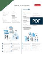 Arcserve UDP Cloud Direct Key Features