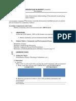 Community and EI H9CE-Ia-8.Docx