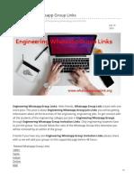 Whatsappgrouplink.org-Engineering Whatsapp Group Links