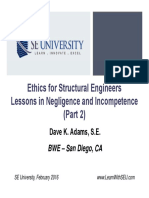 2016.02.10 - Ethics for Structural Engineers - Part 2