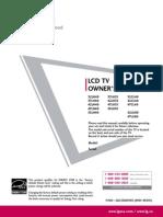 Lg Electronics 55lh40 Manual