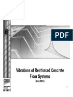 2015.12.09 - Vibration of Reinforced Concrete Floor Systems - Part 1