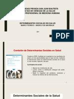 Clase 4 - Determinantes Sociales en Salud Ais 2019 Cvc (1)