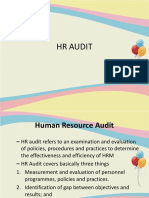 HR AUDIT, purpose, areas of audit and approaches