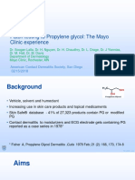 ACDS Patch Testing to Propylene Glycol2.7.18