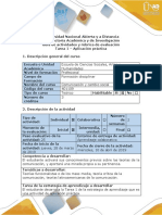 Guía de Actividades y Rúbrica de Evaluación - Tarea 1 - Aplicación Práctica