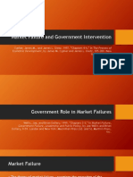 Market Failure and Government Failure