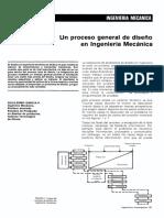 Un Proceso General de Diseño en Ingenieria Mecanica