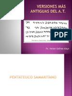 Versiones Antiguas a.T.