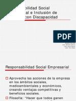 """FORO EJECUTIVO JULIO-2010  """"RESPONSABILIDAD SOCIAL EMPRESARIAL E INCLUSION DE PERSONAS CON DISCAPACIDAD"""