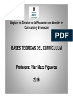 bases Teoricas del curriculum