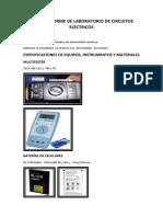 Tercer Informe de Laboratorio de Circuitos Eléctricos.docx Terminado