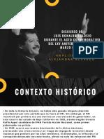 ANALISIS DEL DISCURSO DE COLOSIO