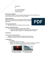 Lesson Plan in Volcanic Eruption-1