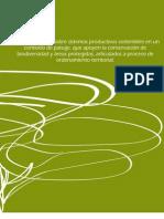 Líneas de gestión sobre sistemas productivos sostenibles en un contexto de paisaje.