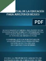 TEMA 5.- ESTADO ACTUAL DE LA EDUCACIÓN EN MEXICO.ppt