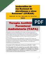 Cuadernillo - TERAPIA ANTIBIOTICA PARENTERAL AMBULATORIA.pdf