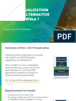 IS OS VIRTUALIZATION A VIABLE ALTERNATIVE TO WINDOWS10