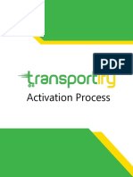 Transportify Driver Post Signup Instructions