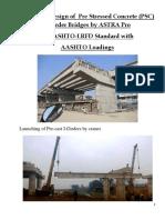 PSC I-Girder Bridge Design in AASHTO-LRFD