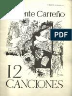 12 Canciones de Inocente Carreño