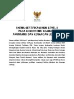 KKNI II Akuntansi Dan Keuangan Lembaga
