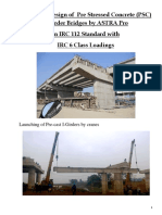 PSC I-Girder Bridge Design in IRC