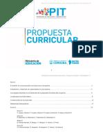 Propuesta Curricular Actualizada Según Resolución 64 16 Final