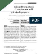 Transplantation Organs