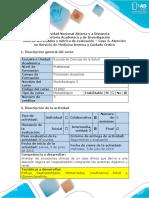 Guía de Actividades y Rúbrica de Evaluación – Caso 3. Atención en Servicio de Medicina Interna y Cuidado Crítico. Docx