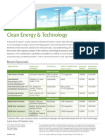 Clean Energy Success