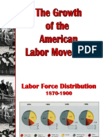 APUSH Notes on Labor Movement
