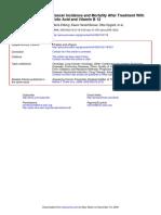 091123 Jama Folic Acid Cancer Study