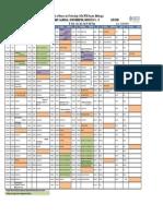 Academic Calendar Btech