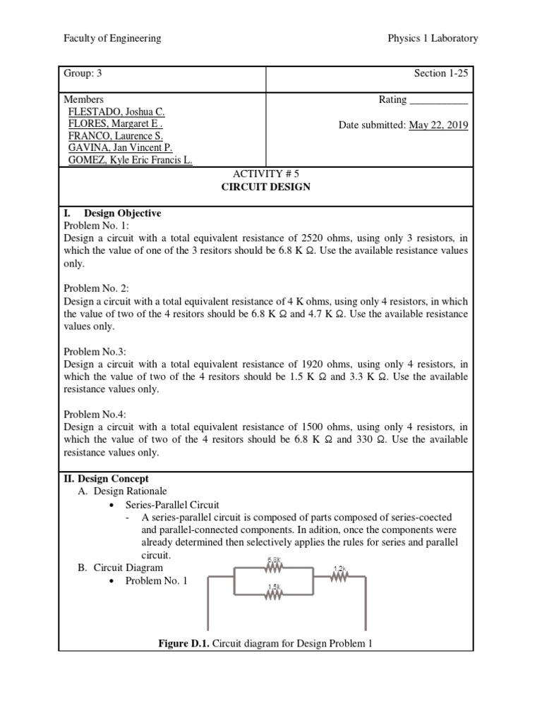 S25G3A8 pdf   Resistor   Rangkaian Seri dan Paralel