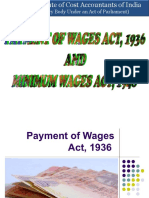 Study Note 06.1 Payment of Wages Act, 1936