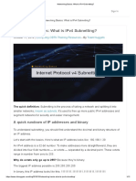 Networking Basics_ What is IPv4 Subnetting
