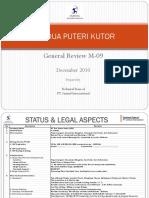 General Review M-09. PT Dua Puteri Kutor_R2_250910