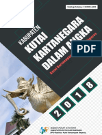 Kabupaten Kutai Kartanegara Dalam Angka 2018