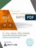 Modul Pelatihan Software Analisis Struktur SAP2000