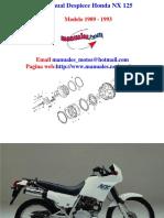 Catalogo de Piezas NX125